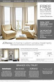 Jcpenney Home Decor Curtains In Home Custom Window Treatments Custom Made Curtains U0026 Drapes