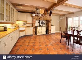 cuisine anglaise traditionnelle grande cuisine traditionnelle anglaise avec aga banque d images