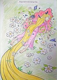 rapunzel coloring book corruptions