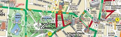 boston tourist map boston map tourist attractions travel map