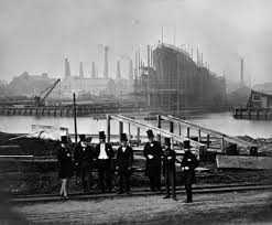 inside the towering shipyards of the victorian era