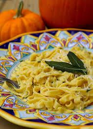 kitchen recipes pumpkin fettuccine kitchen vignettes pbs food