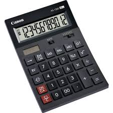 le de bureau à pile calculatrice de bureau canon as 1200 noir solaire à pile s sur le