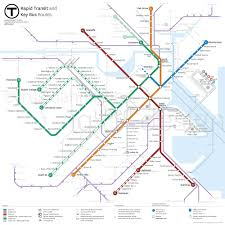 Boston Metro Map by Mbta Map Proposal U2014 Cyrus Dahmubed Iqubed Design