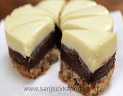 mini double chocolate truffle cake vegetarian recipe