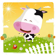 best free funny cow stock vector cartoon drawing