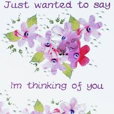 thinking of you flowers of you flowers card wwsy05