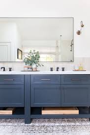best 25 blue vanity ideas on pinterest blue bathrooms designs this type of mirror would work for our bathroom before after