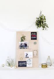 christmas card display holder diy christmas card holder using wood shutterfly