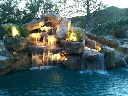 pools with waterfalls swimming pool waterfalls kits complete swimming pool waterfall kit