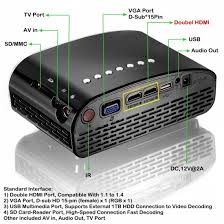 lcd tv to home theater connection amazon com k2 led lcd qvga mini video projector international