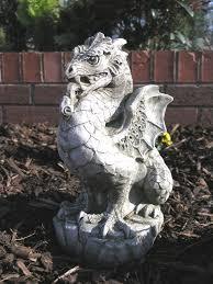 scaly garden ornament statue 28 49 garden4less