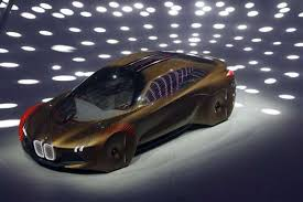 bmw future car shows concept car for the self driving future
