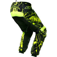 youth motocross gear o u0027neal element enigma hi viz motocross dirtbike gear 2017