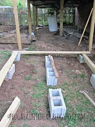 diy floating deck frugal ain t cheap img u2013 modern garden