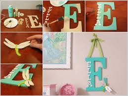 kids room decor here is a cool idea make a kids room monogram