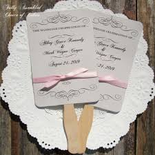 make your own wedding fan programs fans for wedding programs make your own tags 49 fantastic fans