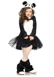girls amanda panda costume child exotic animal costumes