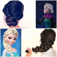 anna from frozen hairstyle spectacular disney frozen movie inspired hairstyle tutorials