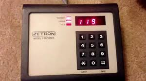 zetron model 5 encoder individual call w warble youtube