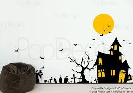 decoration halloween wall decals home decor ideas