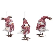 bird decorations for home decor silver elephant waterford christmas ornaments for home
