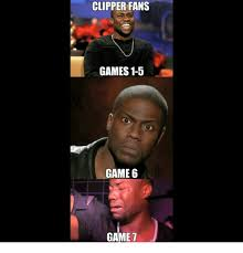 Game 6 Memes - clipper fans games 1 5 game 6 game houston rockets meme on sizzle