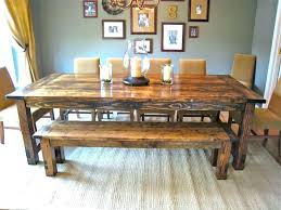 dining room table with bench seat round table with bench lesdonheures com