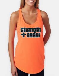 strength honor racerback tank defender gear apparel