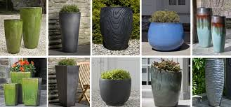 large outdoor planters and ceramic pots denver modern planters