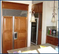 Kitchen Cabinet Refrigerator Hanson House Kitchen Cabinets