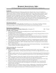 Resume Objective Statement - mba resume objective statement goals in place of for program