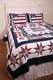 Oversized Quilted Bedspreads Great America Americana Flag Oversize Quilt Americana Patriotic