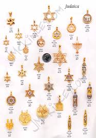 religious charms 14k gold judaica pendants gold of david pendants gold chai