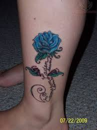 88 best blue rose tattoo images on pinterest blue rose tattoos