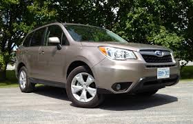 suv review 2014 subaru forester 2 5i driving