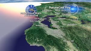 San Francisco Fog Map by Maps U0026 Radar Cbs San Francisco