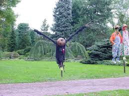 Origination Of Halloween by Hay Man The Curious Life And Times Of Scarecrows Modern Farmer