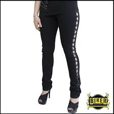 womens motorcycle apparel black see through cut out stretch pants biker clothing women u0027s