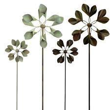 metal wind spinner garden ornaments ebay