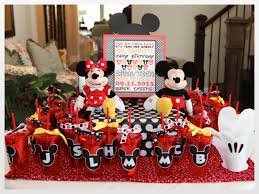 mickey mouse birthday ideas just a party boy girl mickey minnie mouse
