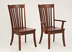 Amish Dining Room Chairs Amish Dining Chairs Solid Wood Chairs The Amish Craftsman