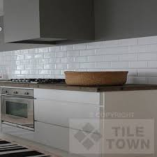 White Kitchen Brick Tiles - awesome brick effect kitchen wall tiles also gallery pictures