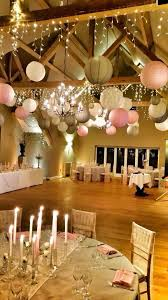 White Paper Lantern String Lights by Stunning Way To Adorn Wedding Venue With Paper Lanterns And String
