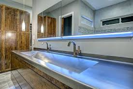 stainless steel countertop with built in sink commercial bathroom sinks stainless steel commercial stainless steel