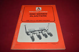 allis chalmers 600 series planter operator u0027s manual dcpa6 ver3