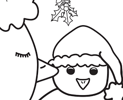 poinsettia coloring page mistletoe bouquet with a ribbon