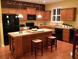 Kitchen Design With Black Appliances Black Appliances With Black Cabinents