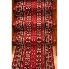 red stair carpet runner lima 90cm kukoon