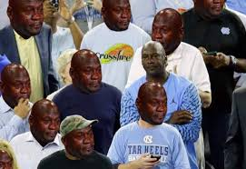 Crying Face Meme - michael jordan isn t a fan of his infamous crying face meme bossip